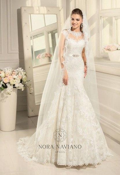 Свадебное платье ALEXIS от Nora Naviano 2015